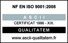 Certificat ISO - Techmay Etiquetage