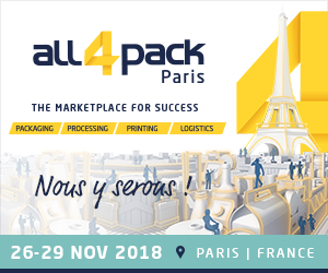 Techmay Etiquetage à All4Pack 2018