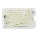 Pochette document <br />Remise de chèques